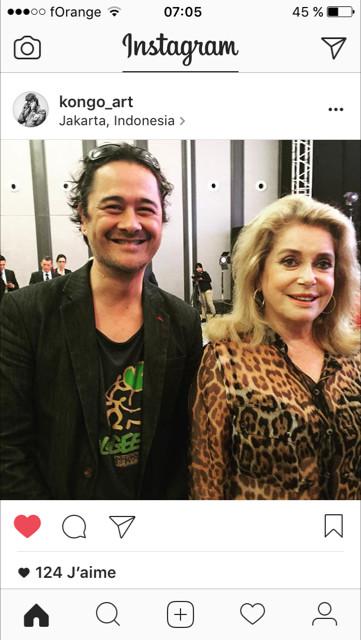 merci à Kongo_art de porter le t-shirt UKA Ecologeek de PIAF en bonne compagnie, avec Catherine Deneuve.
