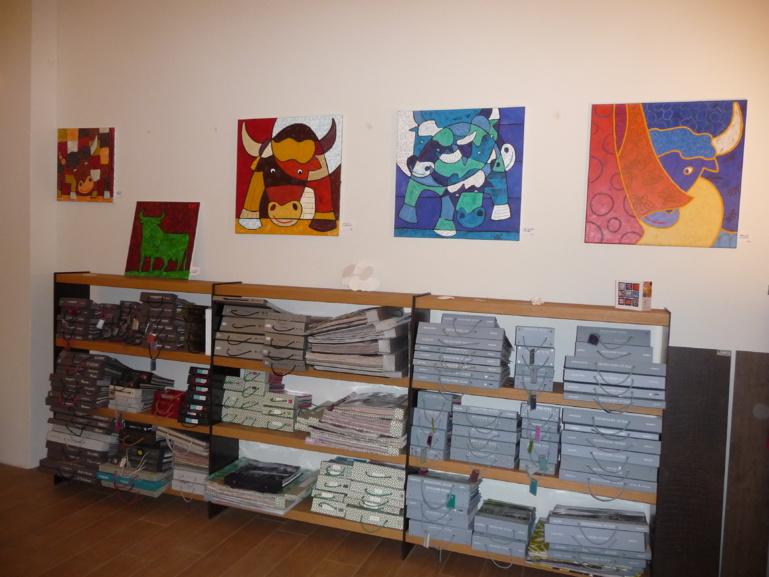 Piaf en expo chez Matiba Decoration à Nîmes