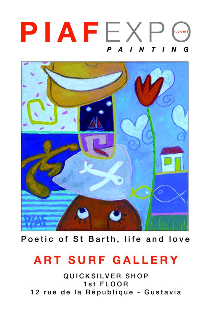 Piaf en expo à Saint Barth