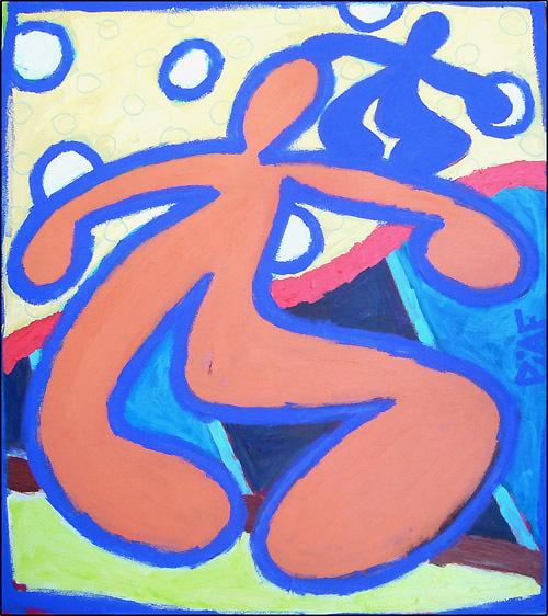L'oeuvre du peintre Piaf en quelques mots