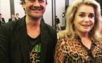 Tee-shirt Ecologeek UKA PIAF, Kongo_art et Catherine Deneuve