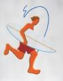 le surfeur-65x50cm
