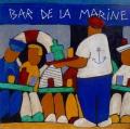 le bar de la marine - 40x40cm