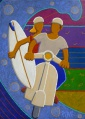 surf trip - 50x70cm