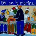 bar de la marine - 40x40cm