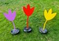 les tulipes - 55x20x20cm