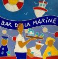 bar de la marine - 50x50cm